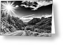Deer Creek Road Greeting Card