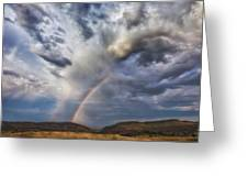 Deer Creek Storm Greeting Card by Darren  White