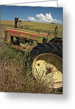 Deere John Greeting Card by Latah Trail Foundation
