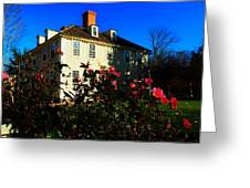 Deerfield House 1 Greeting Card