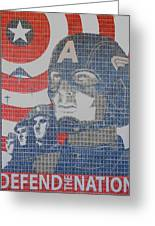 Defend The Nation Greeting Card
