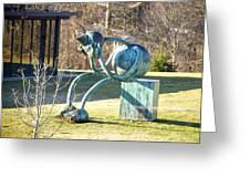 Delaware Art Museum Lawn  Greeting Card