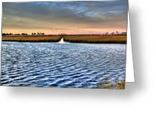 Delaware- Assawoman Bay Greeting Card