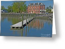 Delaware City Hotel Greeting Card