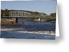 Delaware River Easton Pennsylvania Greeting Card