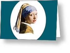 Delft Blue Flip Side Greeting Card