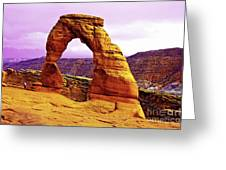 Delicate Arch - Arches National Park Greeting Card