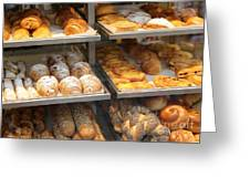 Delicious Pastries In Brussels Greeting Card
