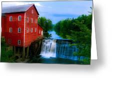 Dells Mill Greeting Card