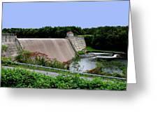 Delta Dam Greeting Card