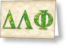 Delta Lambda Phi - Parchment Greeting Card