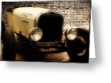Deluxe Roadster Greeting Card