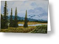 Denali Morning Greeting Card