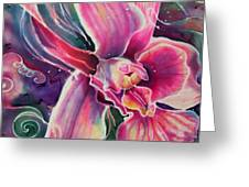 Dendrobium II Greeting Card