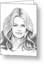 Denise Richards Greeting Card
