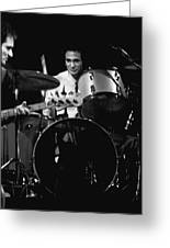 Denny Carmasi On The Drums In 1978 Greeting Card
