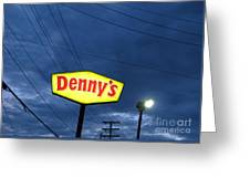 Denny's  Greeting Card