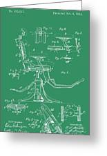 Dental Chair Patent Greeting Card