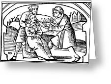 Dentistry, 1542 Greeting Card