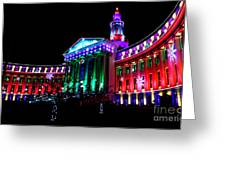 Denver County Building Greeting Card