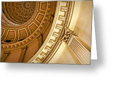 Denver Dome Detail Greeting Card