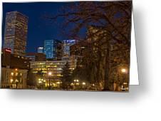 Denver Downtown Greeting Card