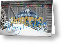 Denver Nuggets Greeting Card
