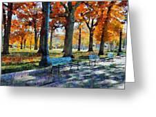 Denver Park 1 Greeting Card