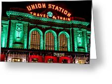 Denver's Union Station Greeting Card
