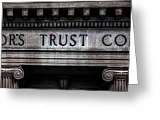 Depositors Trust Company Greeting Card