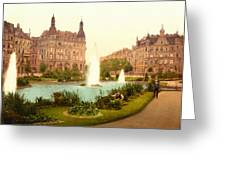 Der Deutsche Ring-cologne-the Rhine-germany -  Between 1890 And  Greeting Card