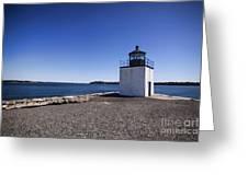 Derby Wharf Lighthouse Greeting Card