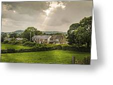Derbyshire Cottages Greeting Card