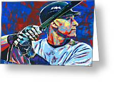 Derek Jeter Greeting Card