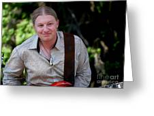 Derek Trucks Greeting Card
