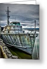 Derelict Navy Vessel Greeting Card
