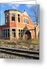Derelict Station Greeting Card