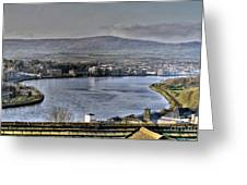 Derry View Greeting Card