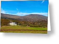 Derrynane House The Home Of Daniel Greeting Card