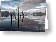 Derwentwater At Dawn Greeting Card