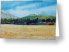 Deschutes River View Greeting Card