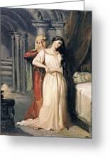 Desdemona Greeting Card by Theodore Chasseriau