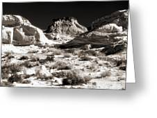 Desert Altar Greeting Card by John Rizzuto