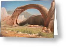 Desert Arch Greeting Card