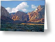 Desert Canyon Greeting Card