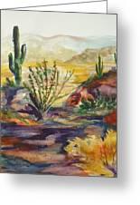 Desert Color Greeting Card