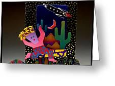 Desert Dancer Greeting Card