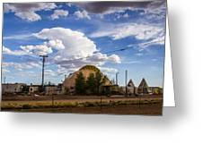 Desert Dome Greeting Card