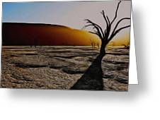 Desert Floor Greeting Card