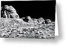 Desert Formation Greeting Card